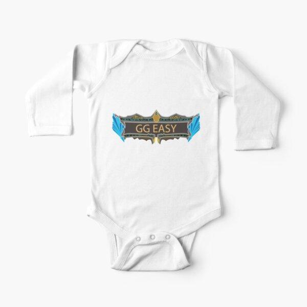 GG EASY - LEAGU DE LEYENDAS Body de manga larga para bebé