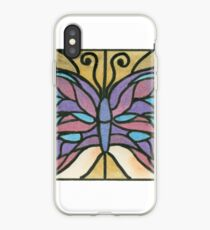 Tiffany Stained Glass Butterfly iPhone Case