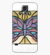 Tiffany Stained Glass Butterfly Case/Skin for Samsung Galaxy