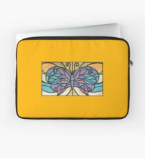 Tiffany Stained Glass Butterfly Laptop Sleeve