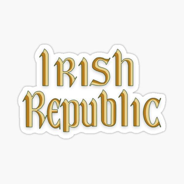 Irish Republic Flag Ireland Sticker