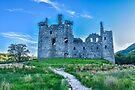 Kilchurn Castle, Loch Awe, Argyll, Scotland by Beth A.  Richardson