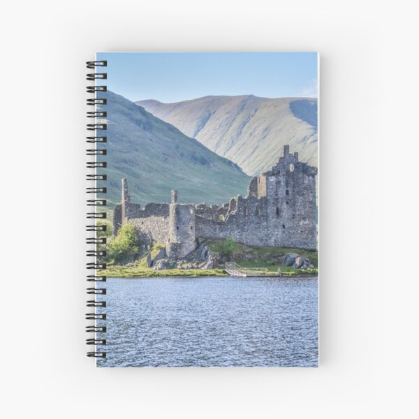 Kilchurn Castle on Loch Awe, Argyll, Scotland Spiral Notebook