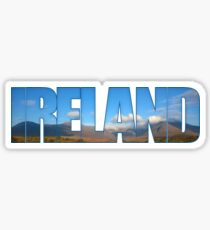Ireland Irish Mountains Sticker