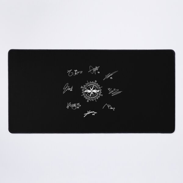 ATEEZ MEMBERS SIGNATURE 2 Desk Mat