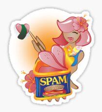 Spam - The Hawaiian Treat Sticker