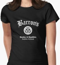 Barrons Books and Baubles Women's Fitted T-Shirt