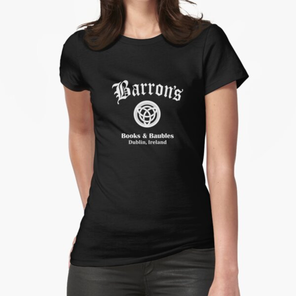 Barrons Books and Baubles Fitted T-Shirt