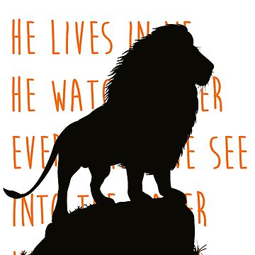 The Lion King - He Lives in You Lyrics by BubblessandMia