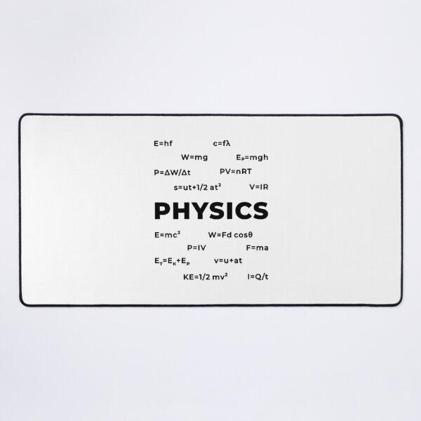 Physics (Inverted) Desk Mat