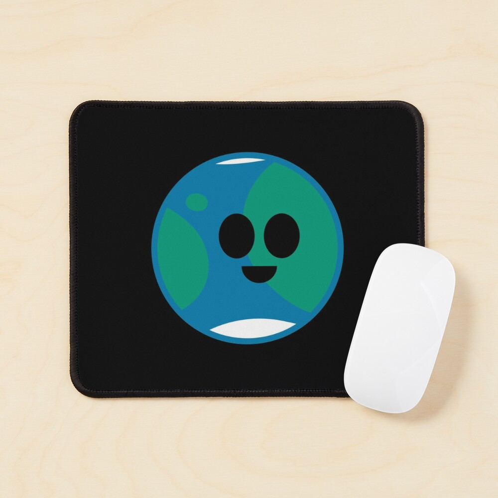 Happy Planet Earth Mouse Pad