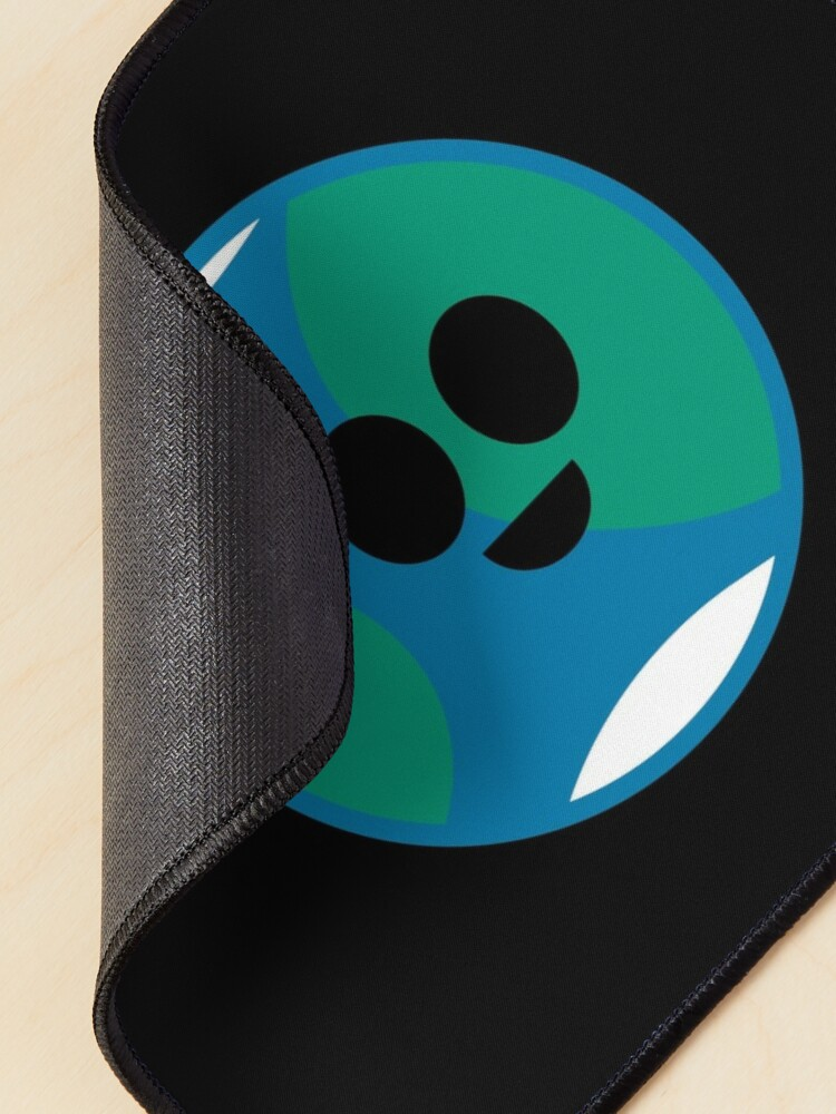 Alternate view of Happy Planet Earth Mouse Pad