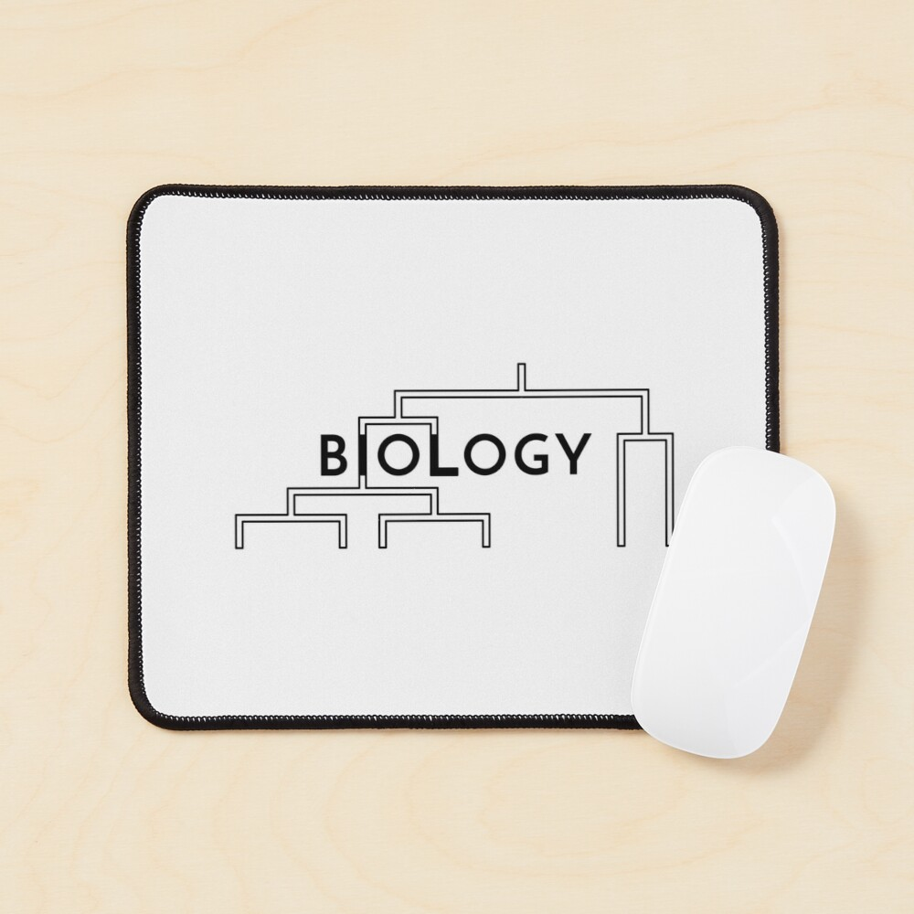 Biology (Inverted) Mouse Pad