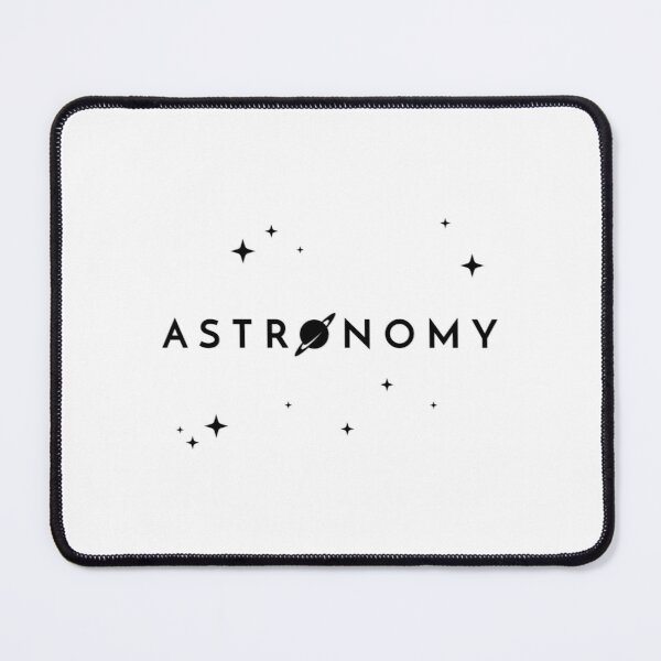Astronomy (Inverted) Mouse Pad