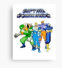 Captain Commando Canvas Print