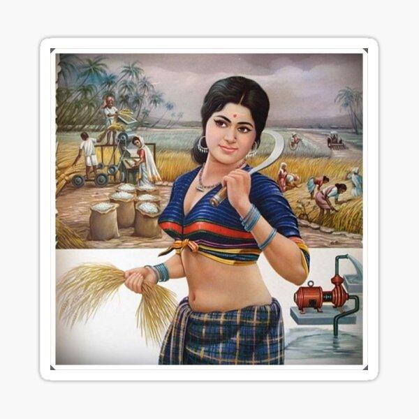 Schönes indisches Frauenbild BabyBee Sticker
