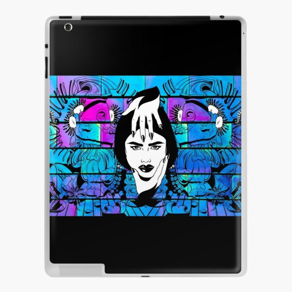 Psychedelic Wall Design iPad Skin