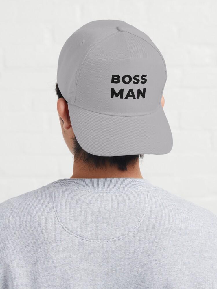 Alternate view of Boss Man (Inverted) Cap