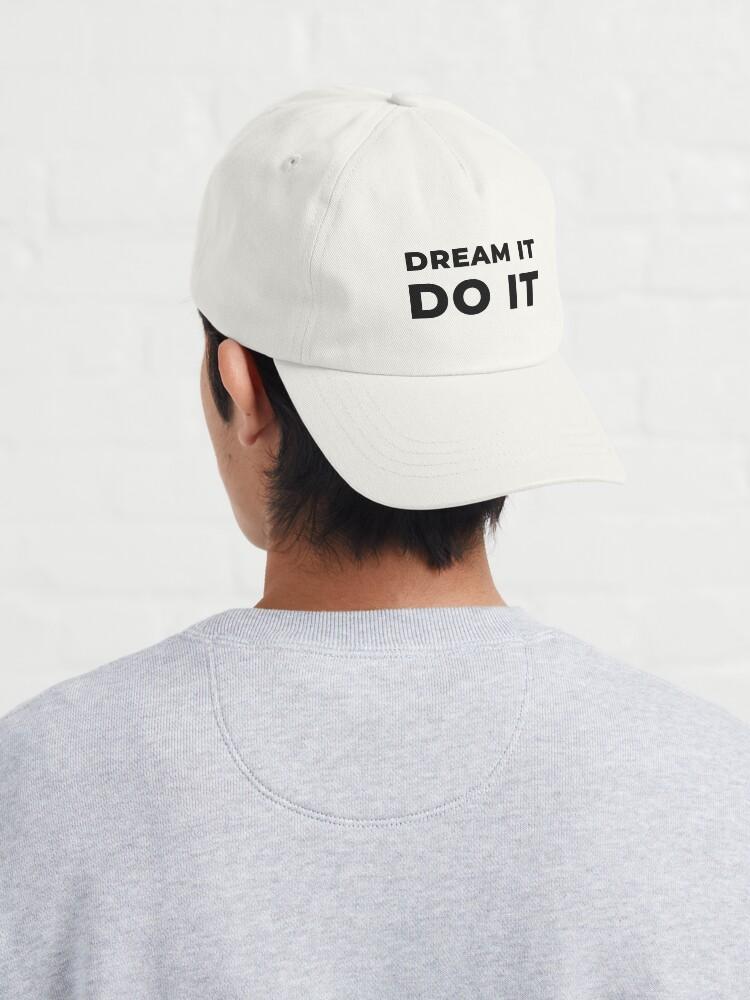 Alternate view of Dream It Do It (Inverted) Cap