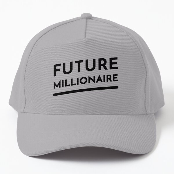 Future Millionaire (Inverted) Baseball Cap
