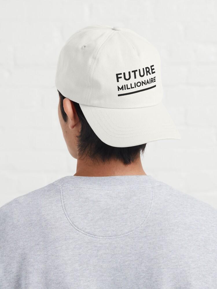 Alternate view of Future Millionaire (Inverted) Cap