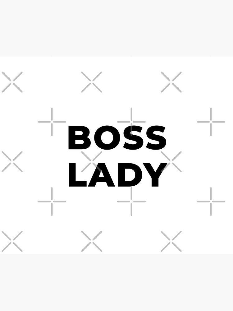 Boss Lady (Inverted) by inspire-gifts