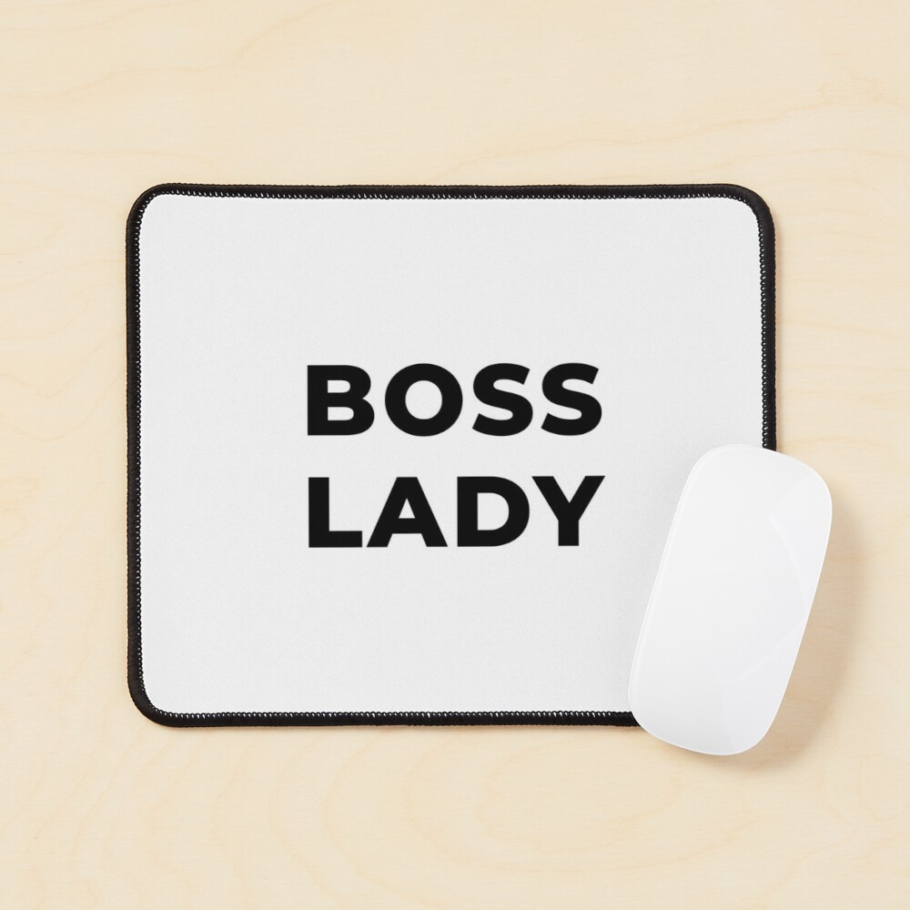 Boss Lady (Inverted) Mouse Pad