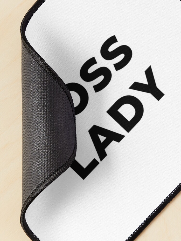 Alternate view of Boss Lady (Inverted) Mouse Pad