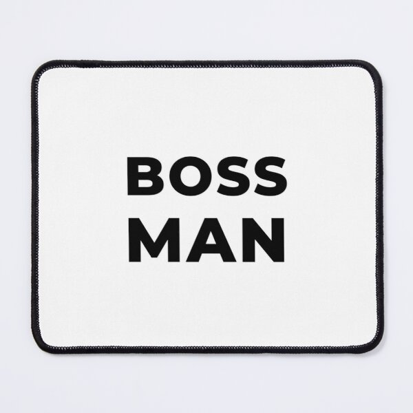 Boss Man (Inverted) Mouse Pad