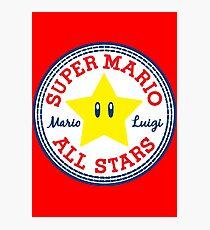 Super Mario All Stars Photographic Print