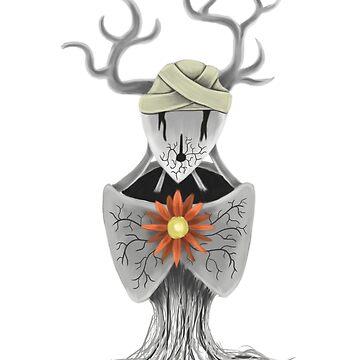 Flower Stag Hybrid by jkinmont