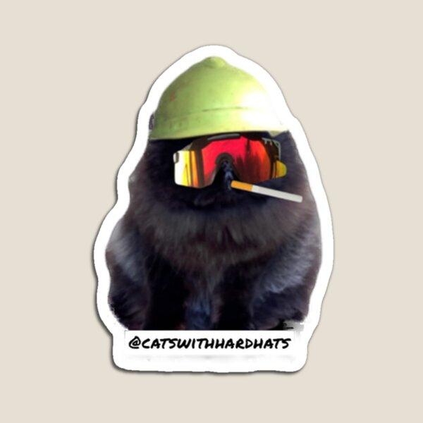 Cig Cat Magnet
