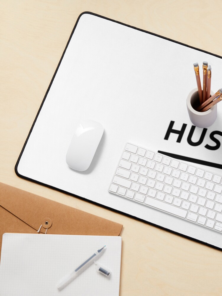 Alternate view of Hustle (Inverted) Mouse Pad