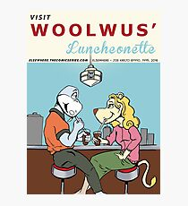 Woolwus' Luncheonette Photographic Print