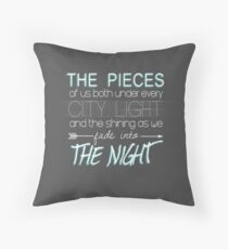 Beside You Throw Pillow