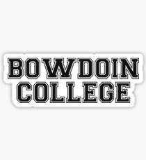 Pegatina Universidad Bowdoin