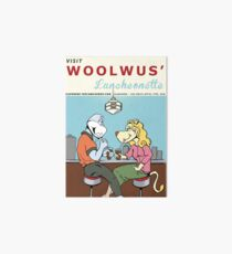 Woolwus' Luncheonette Art Board
