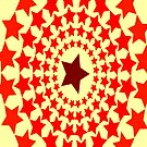 Ring of Red Stars by EvePenman
