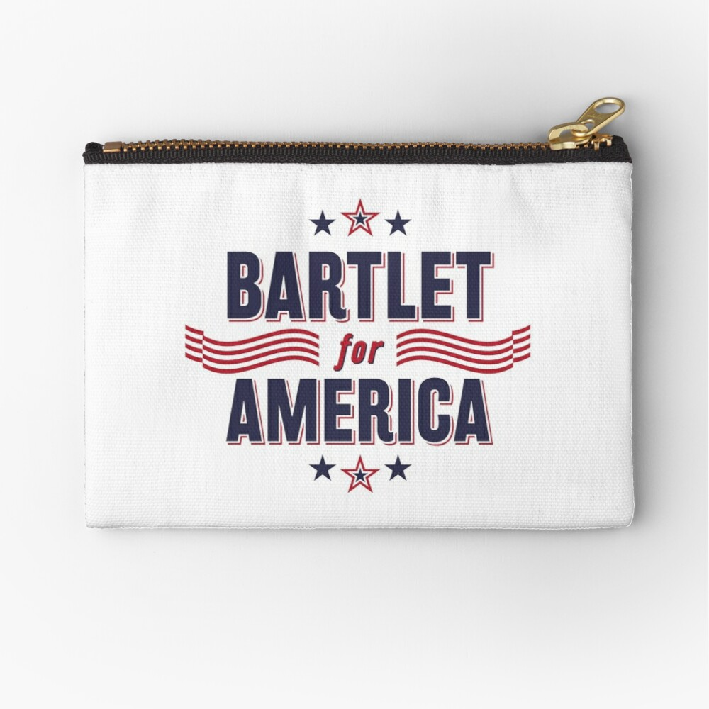Bartlet For America — NEW DESIGN!!! Zipper Pouch