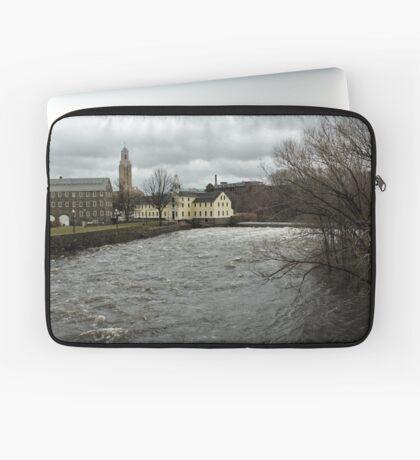 Slater Mill in Winter Laptop Sleeve