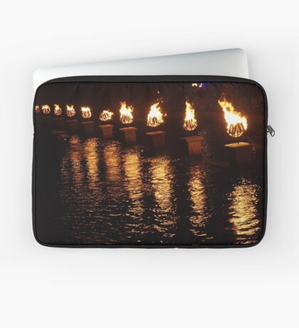 Waterfire Laptop Sleeve