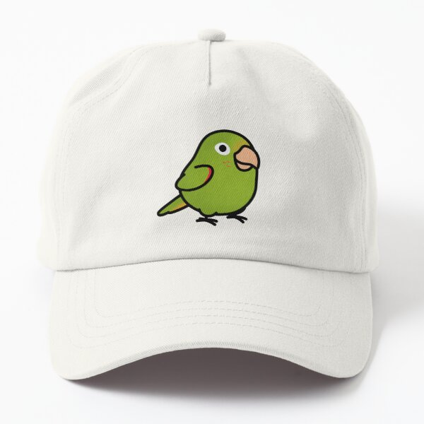 Chubby White-eyed Conure Dad Hat