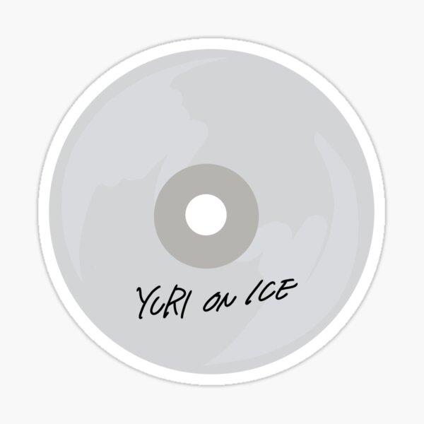 CD de Yuri On Ice Pegatina