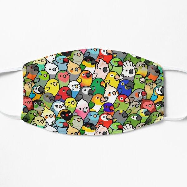 Everybirdy Pattern Flat Mask