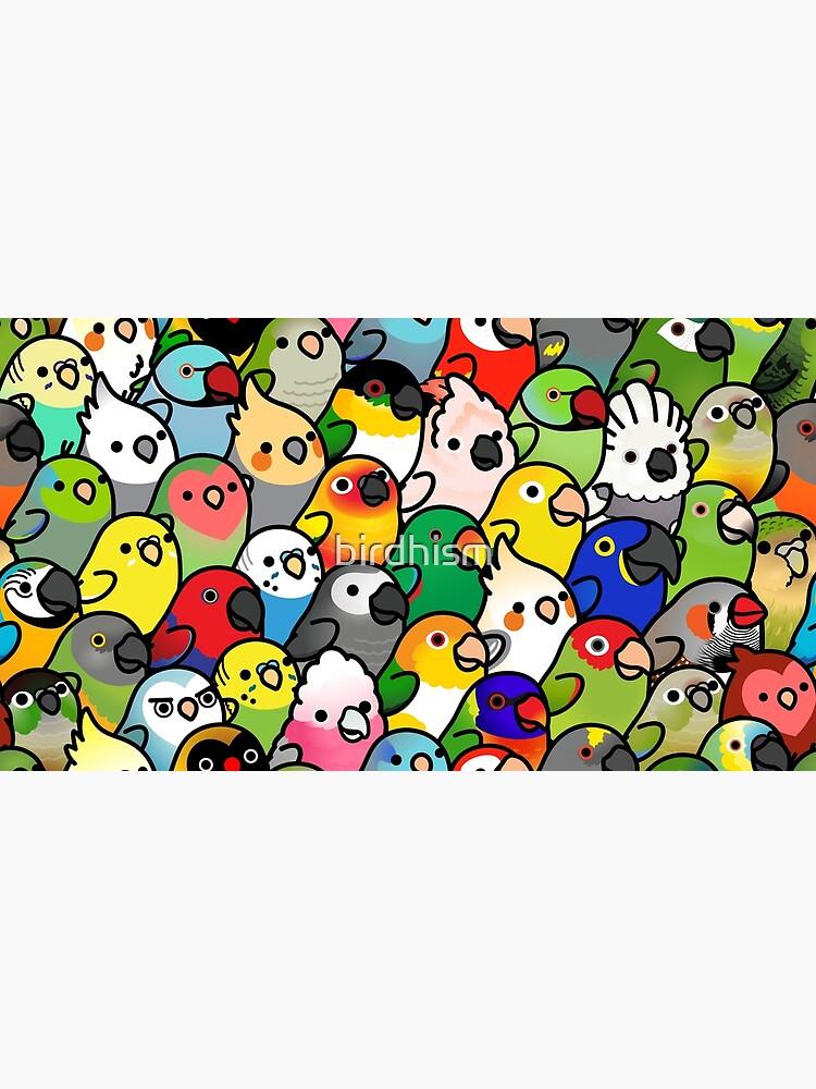 Everybirdy Pattern by birdhism