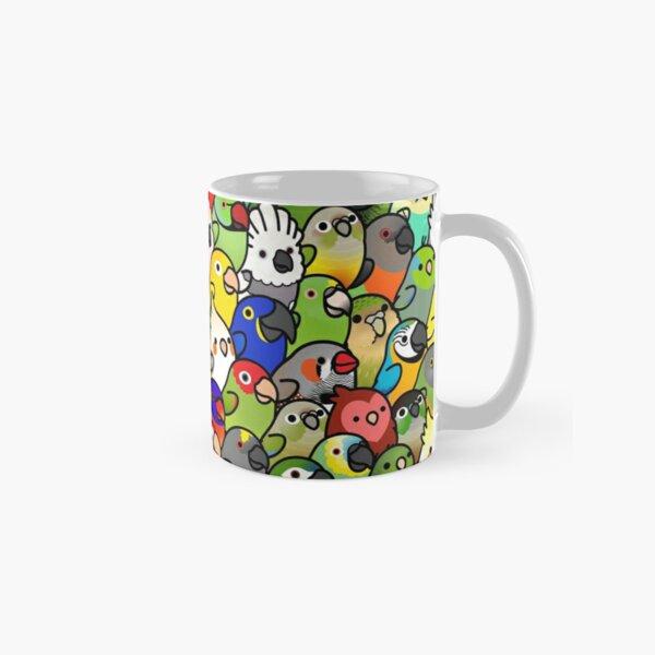 Everybirdy Pattern Classic Mug