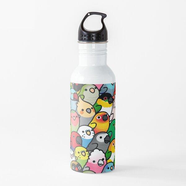 Everybirdy Pattern Water Bottle