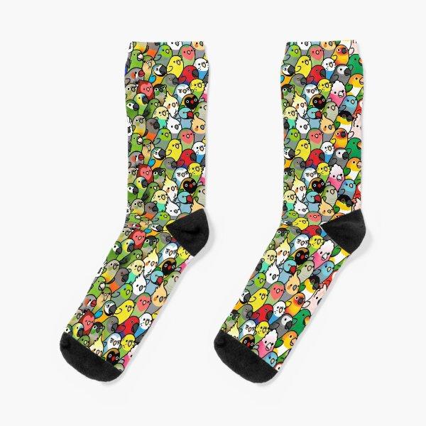 Everybirdy Pattern Socks