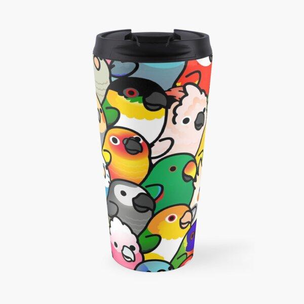 Everybirdy Pattern Travel Mug