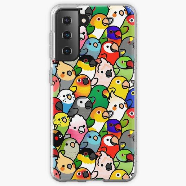 Everybirdy Pattern Samsung Galaxy Soft Case